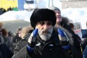 Артур Чилингаров болеет за спортсменов на гонках «Буран-Дей-2013»