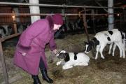 Директор Омской фермы Татьяна Кирина обходит свои владения