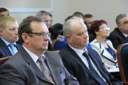 Новые заместители главы региона Владимир Бланк и Михаил Ферин
