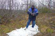 Самое большое впечатление от поездки в НАО – настоящий снег