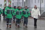 Поздравить нефтяников с новосельем прибыли руководители «Башнефти» и глава НАО