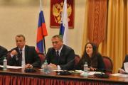 Делегация Ненецкого округа приветствует гостей международного форума