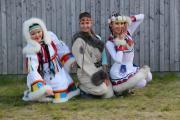 Демонстрация национальных костюмов