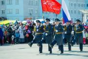 На юбилейном параде Победы