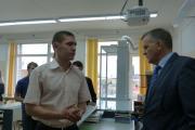 Валерий Остапчук рассказал десятиклассникам  о романтике профессии