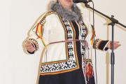 Екатерина Тайбарей – идейный  вдохновитель ненецкого коллектива  «Нянэй сё»