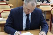 Вице-губернатор Виктор Ильин тоже сел за парту