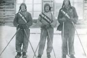 Агитбригада комсомольцев. 1937 год