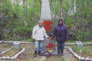 Вера Буркова в одной из поездок