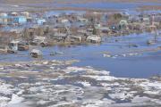 Округ хорошо знает времена, когда большая вода окружала дома
