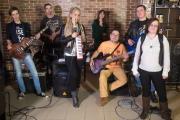 Группа Nordband подарила поселку Красное несколько перепевок в жанре русского рока