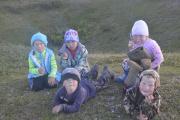 Дети ждут кочевой детсад