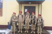 Красновские ребята с руководителем Мариной Ледковой перед поездкой на всероссийский слет