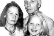 Семья Раух: Елена и Билли с дочерью