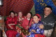 Семья из общины «Ямб то»