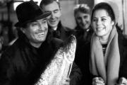 Екатерина Шаврина и Григорий Пономаренко на рыбокомбинате в Нарьян-Маре