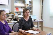Диана Чумакова – куратор федерального проекта «Больше книг» в Ненецком округе / Фото Фото Екатерины Шутяк