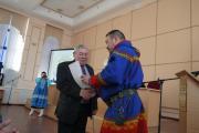 Вячеслав Выучейский (слева) – один из гостей съезда / Фото автора