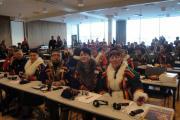 Ненецкая делегация на II Конгрессе коренных народов в Тромсё – Норвегия, 2012 год / Фото Ольги Михеевой