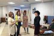 В Этнокультурном центре НАО творческой команде рассказали о культуре ненецкого народа / Фото автора