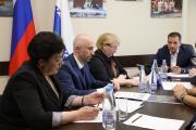 Глава НАО и представители народного фронта обсудили немало вопросов / Фото Екатерины Шутяк