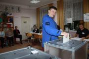 Точку в сценарии единого дня голосования 8 сентября ставит Альберт Карагулов / Фото Михаила Веселова