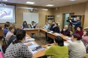 Экспертная сессия ОНФ – секция «Образование» / Фото пресс-службы ОНФ в НАО