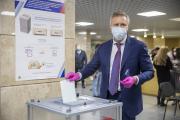 Чтобы принять участие в голосовании необходим только паспорт / Фото Алексея Орлова