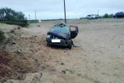 Авария на 3 км автодороги Нарьян-Мар – Усинск / Фото ОГИБДД УМВД России по НАО