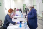 Жители Ненецкого автономного округа голосовали активно / Фото Алексея Орлова