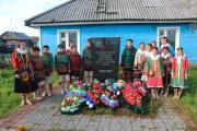 Участники проекта «Упряжка Победы» в Каменке / Фото Светланы Шадриной