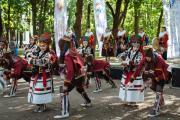 «Хаяр» создал максимальную по драйву атмосферу этнического фестиваля / Фото Натальи Очевой, СПб