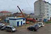 Ремонтные работы в самом центре города приходится вести с ювелирной точностью / Фото автора