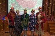 Гости вечера приняли участие в познавательно-развлекательной программе / Фото Совета ветеранов п. Харута