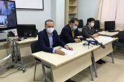 Медики и представители профильных ведомств ответили на вопросы журналистов / Фото Алексея Орлова