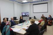 Конференция коми-ижемцев прошла в онлайн-формате. К разговору подключились окружные посёлки Харута и Каратайка, а также Ямал, республики Коми и Словения / Фото автора