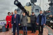 Делегация НАО, родители военнослужащих / Фото пресс-службы горсовета Нарьян-Мара
