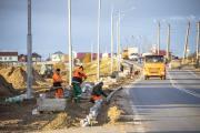 Обустройство пешеходных зон выполнено практически на 60% / Фото Алексея Орлова