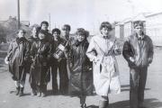 Кассетный магнитофон – обязательный атрибут советской молодёжной тусовки. 1986 год / Фото из личного архива автора