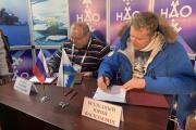 Соглашение подписали в рамках «Сямянхат мерета» / Фото Алексея Орлова