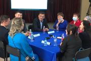 Представители общественности Ямала и Таймыра при обсуждении совместных проектов / фото из открытых источников