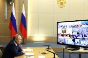 Глава государства пообщался с семьями из разных регионов / фото kremlin.ru