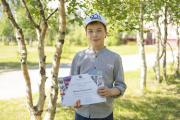 Михаил Владыкин стал победителем среди ребят от 10 до 15 лет / Фото Игоря Ибраева