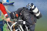 Тренировки водолазов / Фото предоставлено КУ НАО «Поисково-спасательная служба»