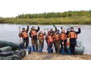 Участники пятидневного сплава по рекам НАО / Фото молодёжного центра НАО