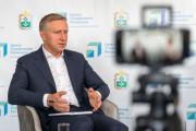 Центр управления регионом в третий раз провёл прямой эфир с Юрием Бездудным / Фото Алексея Орлова