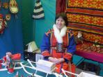 Вероника Талеева воспитывает детей в национальных традициях