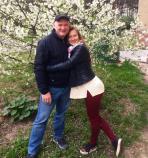 Даша с отцом Анатолием Курленко. Фото из семейного архива