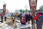 Во исполнение благого дела владыкой Иаковым был отслужен молебен / Фото Екатерины Шутяк