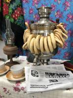 У самовара чаю чашка – с днём рождения,  «Няръяшка»! / Фото Алёны Людвиг